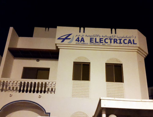4 A Electrical Oman branch was established.